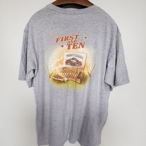 Tommy Bahama // first and ten graphic tee t-shirt